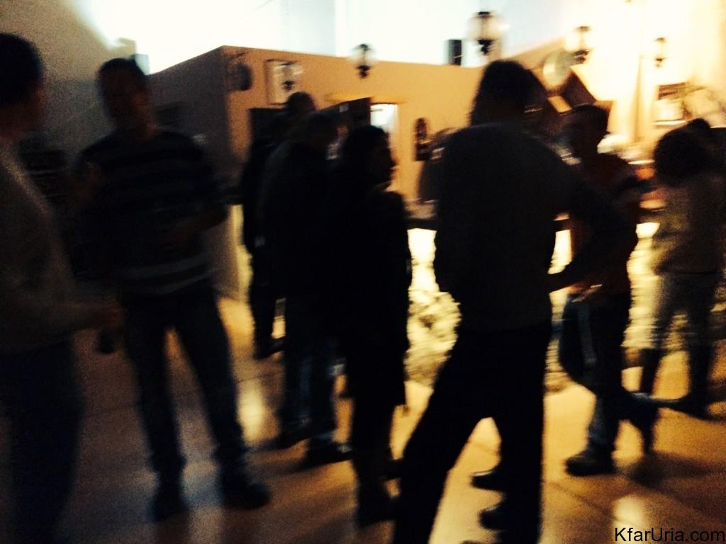 מסיבת השנה האזרחית החדשה של כפר אוריה 2015