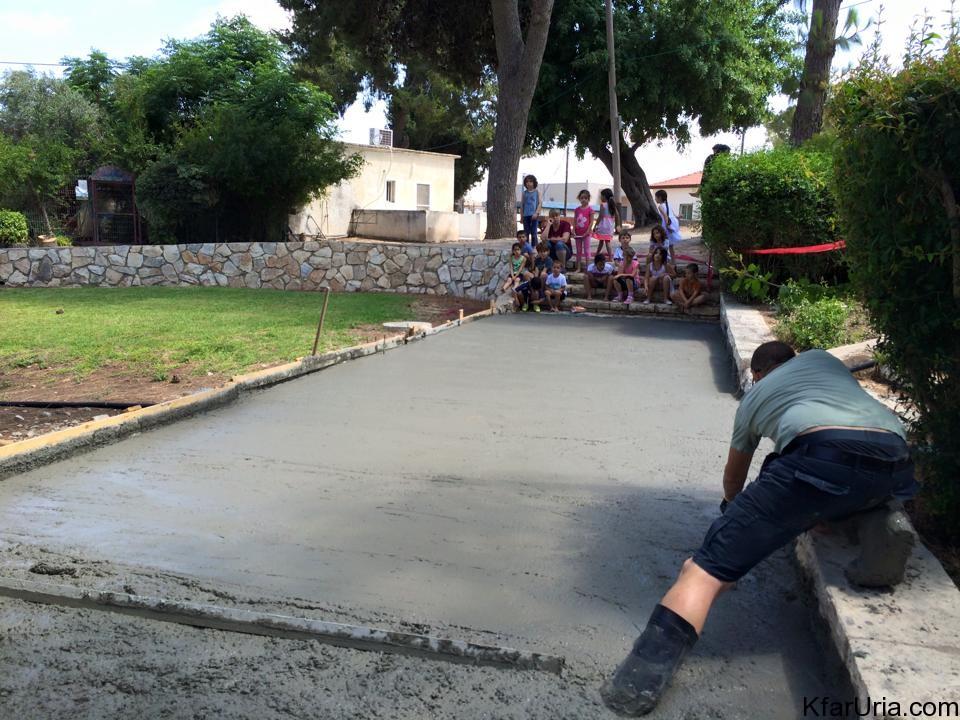 עבודות מתנדבים כפר אוריה 4