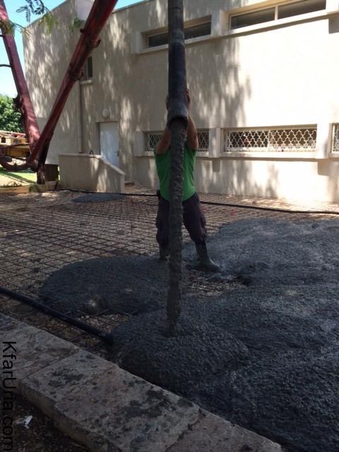 עבודות מתנדבים כפר אוריה 5