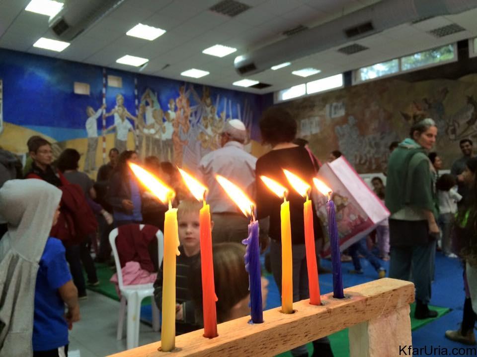 כפר אוריה חנוכה 2015 2