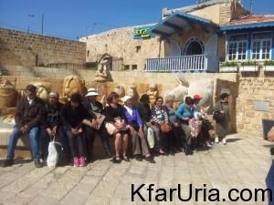 טיול ותיקים כפר אוריה מרץ 2016