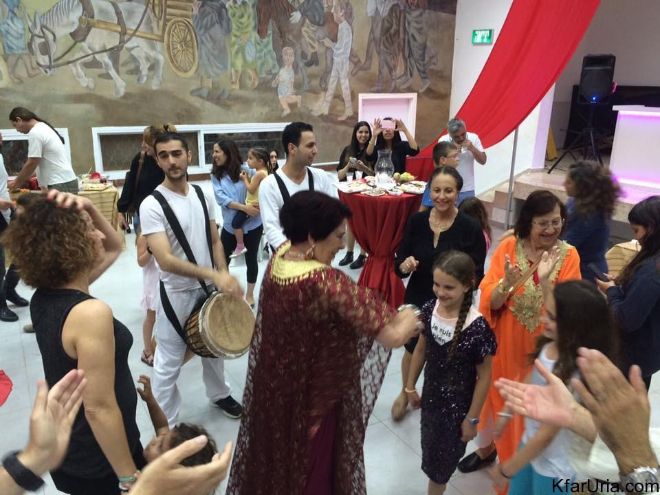 מימונה כפר אוריה 2016 - ריקודים