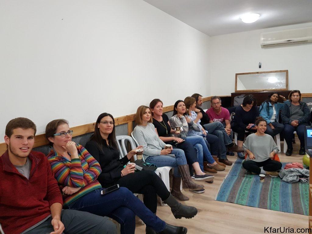 הרצאה קהילתית כפר אוריה ניר דקל 2
