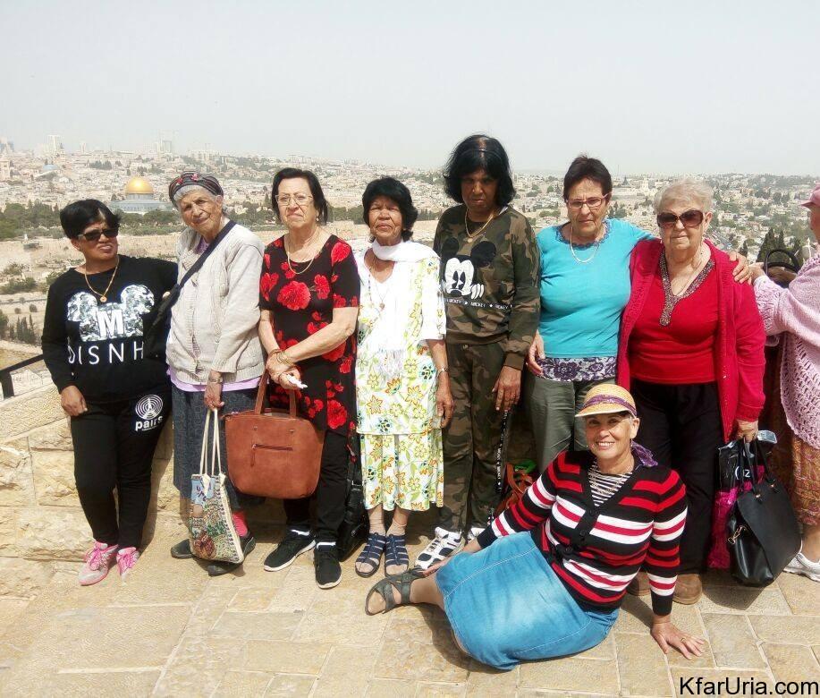 מועדון ותיקות כפר אוריה טיול 2017 3