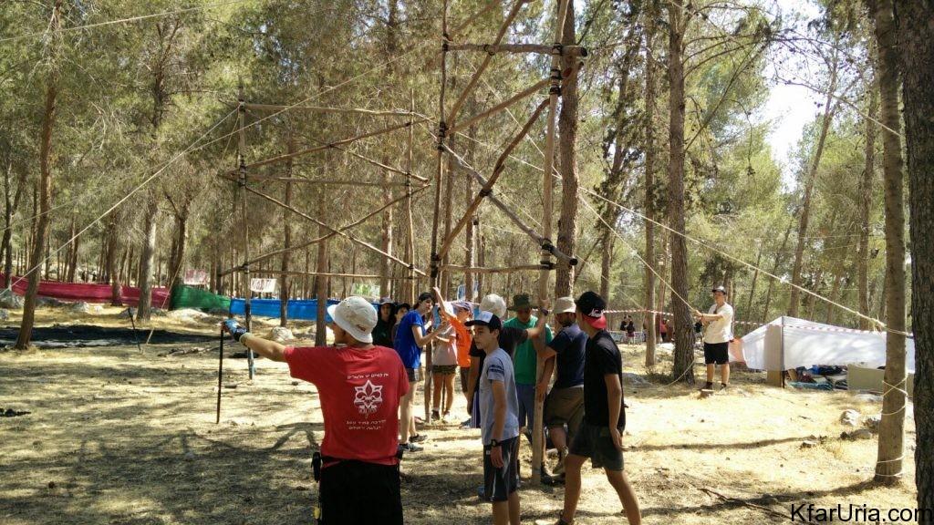 כפר אוריה - מחנה קיץ 2017 - הכנות 4