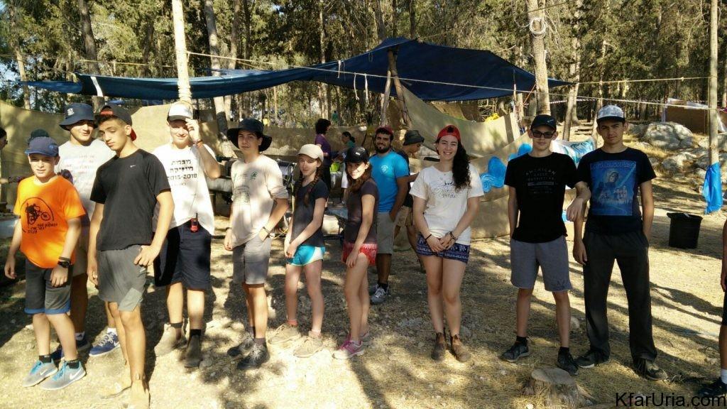 כפר אוריה - מחנה קיץ 2017 - הכנות 5