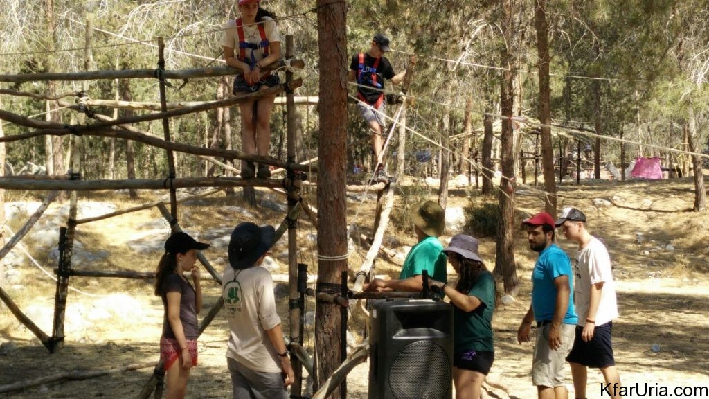 כפר אוריה - מחנה קיץ 2017 - הכנות 6