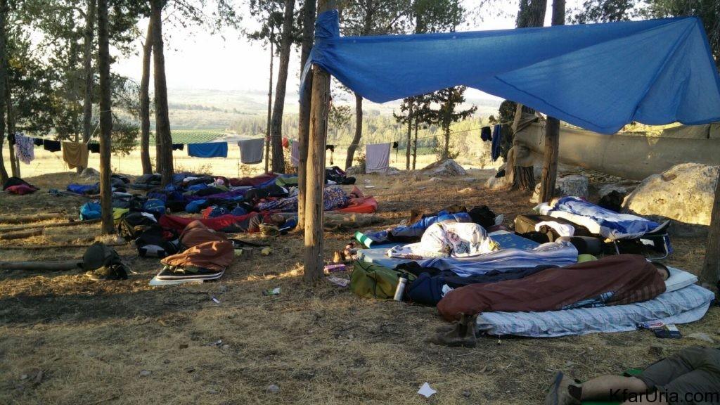 כפר אוריה - מחנה קיץ 2017 - הכנות 8