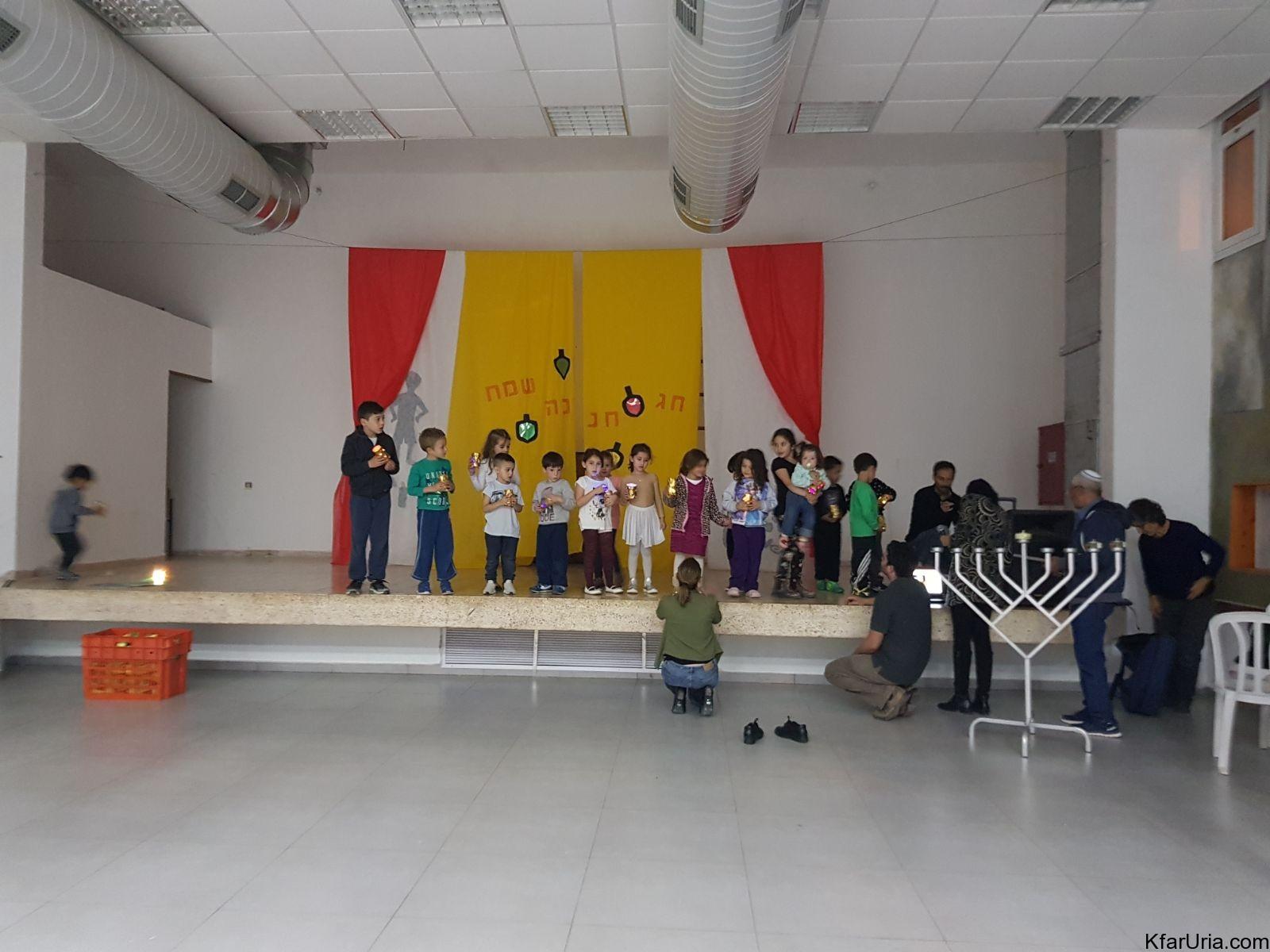 חגיגות חנוכה 2017 כפר אוריה 1