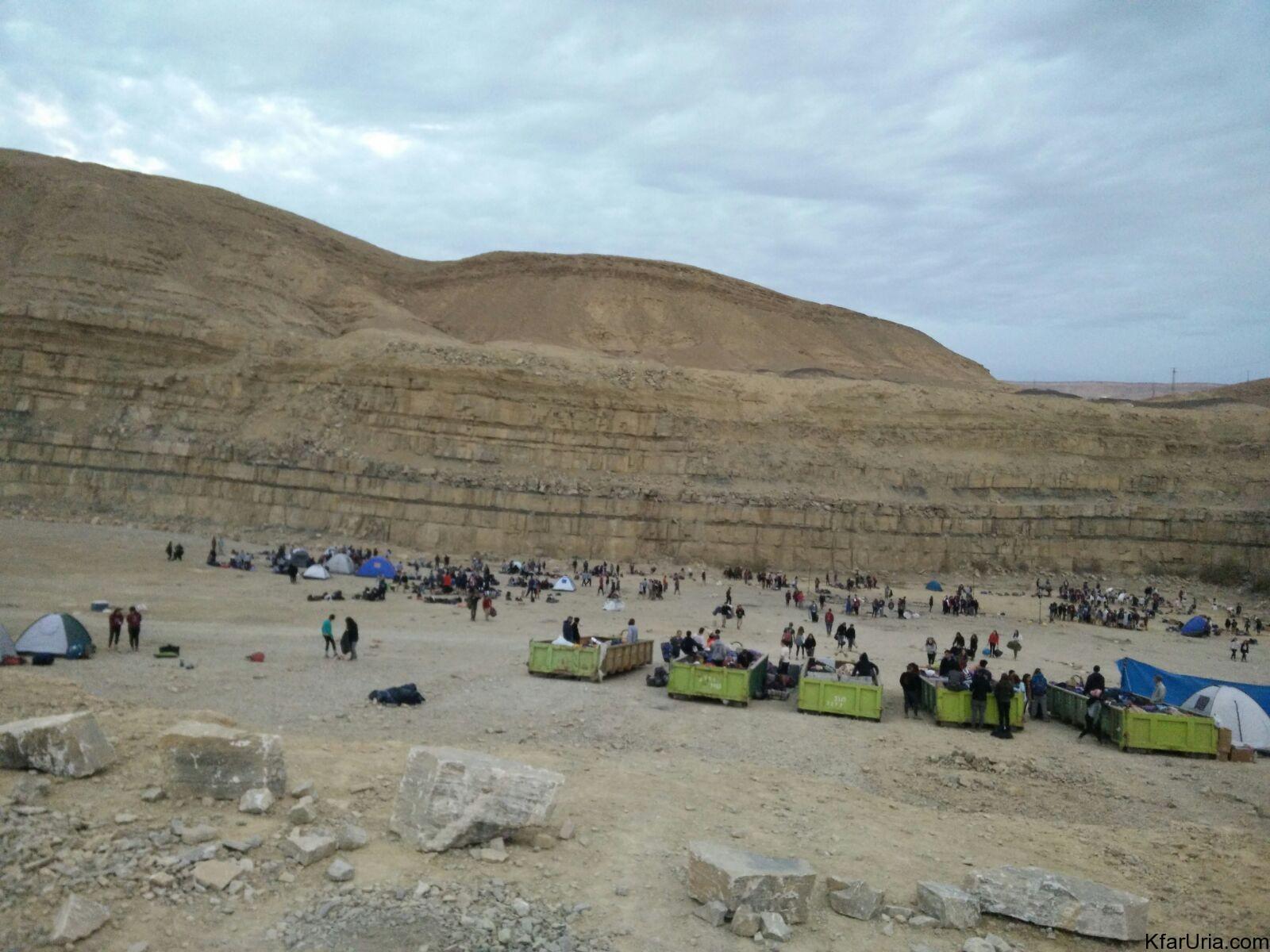 טיול צופים חנוכה 2017 - שכבג שבט אופק כפר אוריה 1