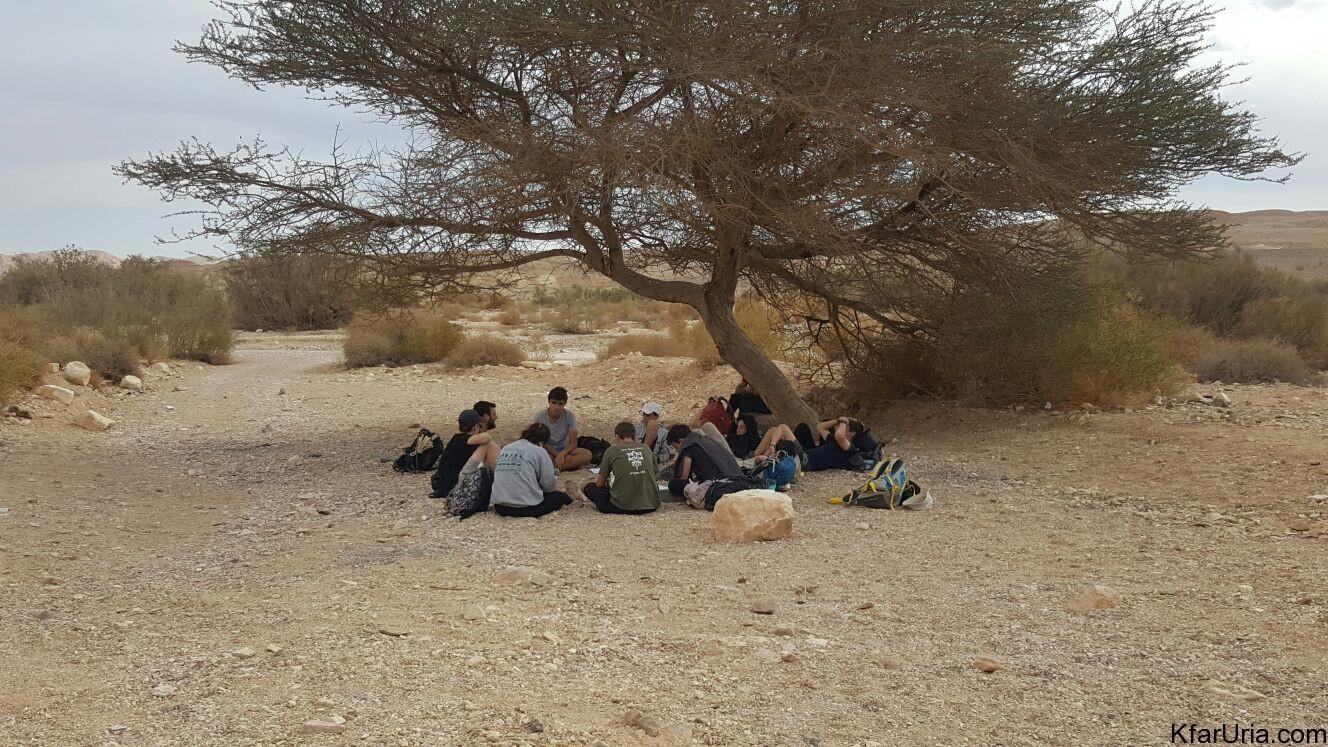 טיול צופים חנוכה 2017 - שכבג שבט אופק כפר אוריה 4