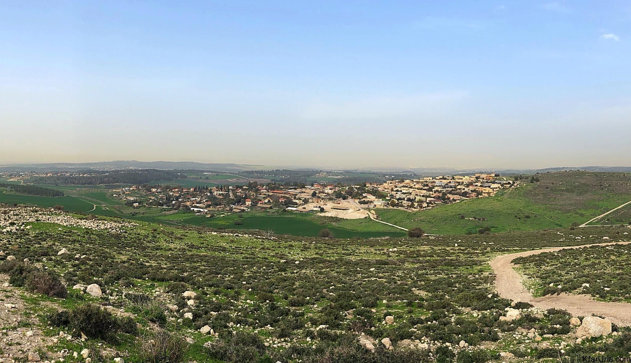 כפר אוריה בירוק פברואר 2018
